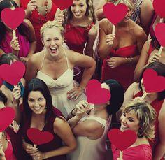 #casamento #corações #vermelhos