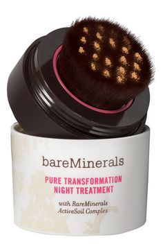 Bare Escentuals® bareMinerals® 'Pure Transformation' Night Treatment / It works! (for me :)