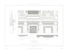 1856 Architecture Louvre Paris France Facade by CarambasVintage, $22.00