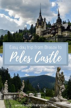 Tips for taking a day trip from Brasov to Peles Castle in Sinaia, Romania; day trips from Brasov; castles in Romania Europe Destinations, Europe Travel Guide, Spain Travel, Travel Guides, Budget Travel, Travelling Europe, Traveling, Ukraine, Peles Castle
