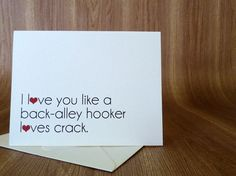 Back-Alley Hooker Greeting Card