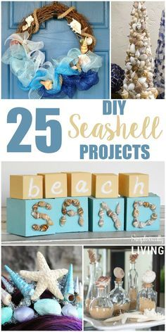 25 DIY Seashell Projects Simplistically Living