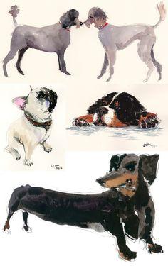 happy menocal pet portraits - love.