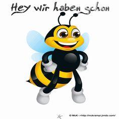 McK Dienstag´s Biene  BBCode auf der Homepage