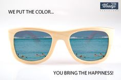 We put de color... you bring the happiness!