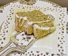 pistachio cheese | Pistachio cake with cream cheese frosting...
