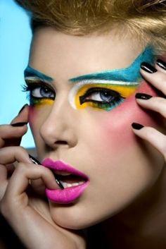 Colorful Makeup   Colorful Makeup photo Martina Satoriova's photos - Buzznet