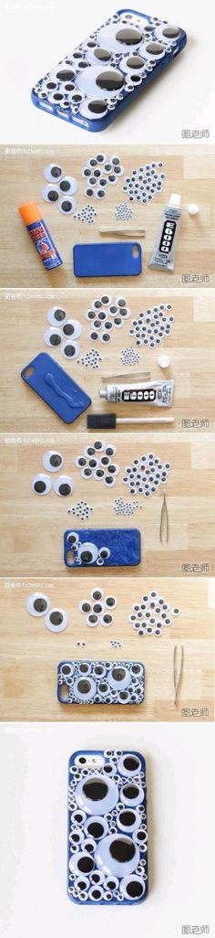 DIY Bubble Dream iPhone Case