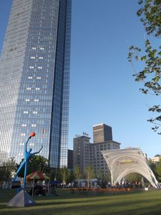 Devon Energy Tower and the renovated Myriad Gardens in OKC - the place to be!!