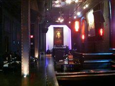 Love this dark, gothy-themed bar...Harlot SF...