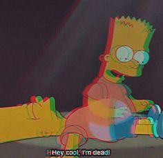 Sad Wallpapers Simpsons Amatwallpaper Org