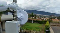 Nueva instalación #WiFiCanarias #AirInternet en Puerto de La Cruz #Tenerife #ubiquiti #nanoBeamM19