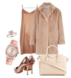 """""""Rose"""" by dailyfasinsk on Polyvore featuring mode, Alexander Wang, River Island, Whistles, Givenchy en Rolex"""
