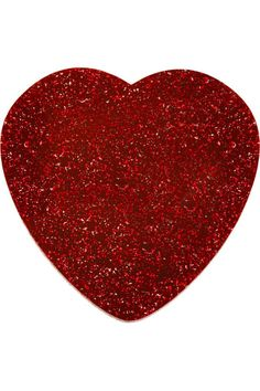 Glitter Heart Brooch - Mainline - By collection - By product - Shop My Favorite Color, My Favorite Things, Tatty Devine, Simply Red, I Love Heart, Glitter Hearts, Sparklers, Vintage Brooches, Playing Dress Up