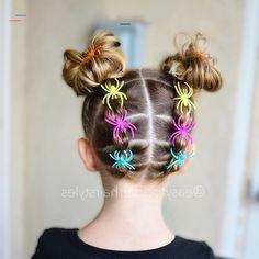 25 Easy Wacky Hairstyles for School Girl – Short Pixie Cuts - #crazyhairdayatschoolforgirlseasy Easy Toddler Hairstyles, Girls School Hairstyles, Braided Hairstyles, Wacky Hairstyles, Halloween Hairstyles, Simple Hairstyles, Hair Styles For Halloween, Little Girl Short Hairstyles, Cute Hairstyles For Kids