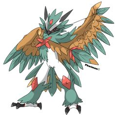 I know I know some people don't really like this pokemon because its too girly but whatever. I like Primarina and I think it needs a mega evolution just. Decidueye Pokemon, Ghost Type Pokemon, Pokemon People, Pokemon Memes, Pokemon Fan Art, Pokemon Fake, Pokemon Stones, Mega Evolution Pokemon, Deviantart Pokemon