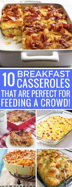 How have I never made a breakfast casserole before?? My weekend guests are going to love this!