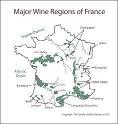 france wine regions map pdf