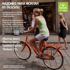 Razones para montar en bicicleta