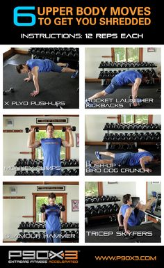 Tony Horton doesn't mess around with this killer 10-minuter upper body workout. Who's in? #workout #exercise #fitness #lift #weightlifting #upperbody #fitspo #fitspiration #gym #motivation #inspiration #fit