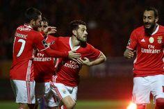 Veja os golos da vitória do Benfica sobre o Feirense