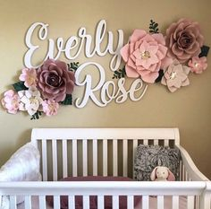 love this idea ! if I have another baby I'm definitely going to do this nursery decor .