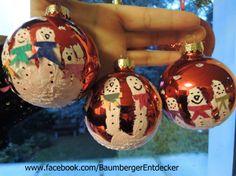 """""""unsere Weihnachtskugeln""""  alle Beschreibungen und noch mehr Fotos findet ihr hier: www.facebook.com/BaumbergerEntdecker"""