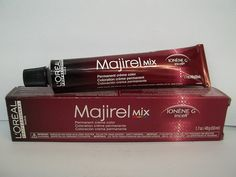 L'Oreal Professional Majirel Ionene G Incell Permanent Creme Hair Color - 1.7 Fl. Oz. Tubes - Shade Selection: Green Mix -- Be sure to check out this awesome product. #hairhowto