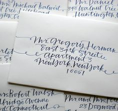 Receiving a hand-written letter is a treat, but would you say that some things are not better than the anticipation at reading the address on a hand-written envelope before reading the letter. It's all about the envelope, pen pals.