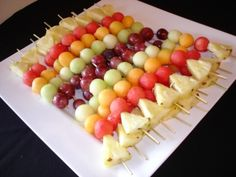 Fruit Skewers – For our Horderves Only reception