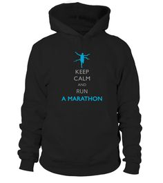 Keep Calm and run a Marathon T shirt | Teezily | Buy, Create & Sell T-shirts to turn your ideas into reality