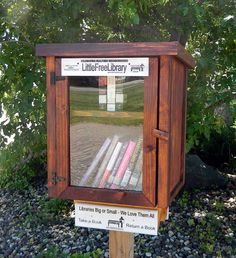 I saw this on @missalysa326 's Facebook and I REALLY want one. Free Little Library. They are darn expensive...I'm thinking maybe for my birthday (unless I can find someone to make one). There is a locator, though, and I can visit one in St. James City & Ft. Myers!