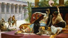 Cleopatra Testing Poisons on Condemned Prisoners; painting by Alexandre Cabanel.
