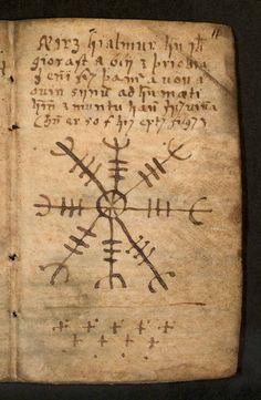 AEgishjálmur (Helm of Awe) Icelandic Magical Sun.