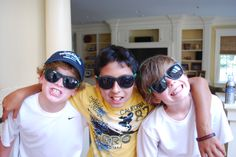 Looking cool in their sunglasses, Fresh Air friends enjoy the summertime pleasures that CT has to offer.