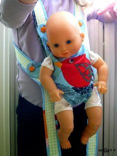 Porte-bébé pour poupée