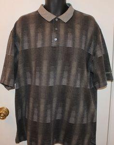 Carnoustie Mens Polo Golf Shirt SS Mercerized Cotton Size XL #Carnoustie #PoloRugby