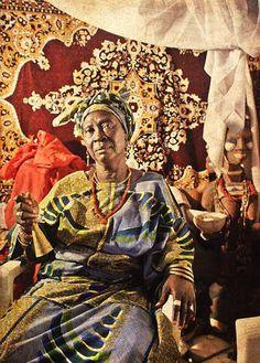 Orisa Egbe [deity of destiny] Mrs Isun Yita