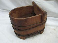 Antique Salesman Sample Wooden Bathtub Wood Bath Tub