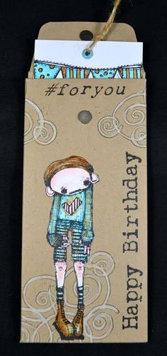 Artwork created by Nellie van Leeuwan using rubber stamps designed by Daniel Torrente for Stampotique Originals
