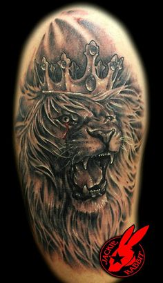 Roaring Lion Tattoo | Recent Photos The Commons Getty Collection Galleries World Map App ...