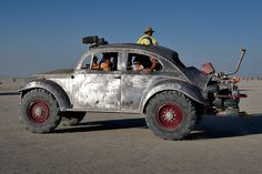 Volkswagen, Burning Man Style by AGrinberg, via Flickr