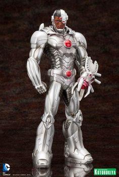 [KOTOBUKIYA] Cyborg New 52 ARTFX+ Statue