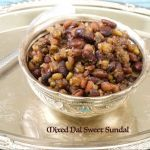 Sundals are an integral part of Navratri celebrations.Every evening, after we light the lamps, any one kind of sundal is offered as neivedhiyam. Sundal Recipe, Dog Food Recipes, Celebrations, Vegetables, Cooking, Breakfast, Sweet, Kitchen, Morning Coffee