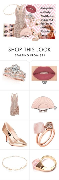 """""""Imperfection is Beauty"""" by mocking-birdie on Polyvore featuring Smashbox, RED Valentino, INC International Concepts, Michael Kors, Diane Kordas, Gucci, authentic, feelinmyself and ImperfectionBeauty"""