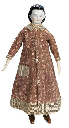 View Catalog Item - Theriaults Antique Doll Auctions.  Like the dress, going to have to make one for one of the girls.