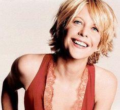Meg Ryan. Warm smile, light.