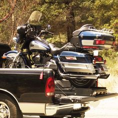 The Rampage power lift motorcycle ramp is a great alternative to the normal motorcycle loading ramp method! Motorcycle Loading Ramp, Loading Ramps, Electra Glide, Pickup Trucks, Antique Cars, Remote, Ford, Van, The Unit