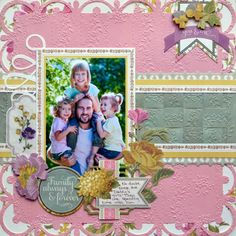 Anna Griffin Scrapbook Page Layouts | ... paper--perfect for scrapbook pages. Hope these projects inspire you