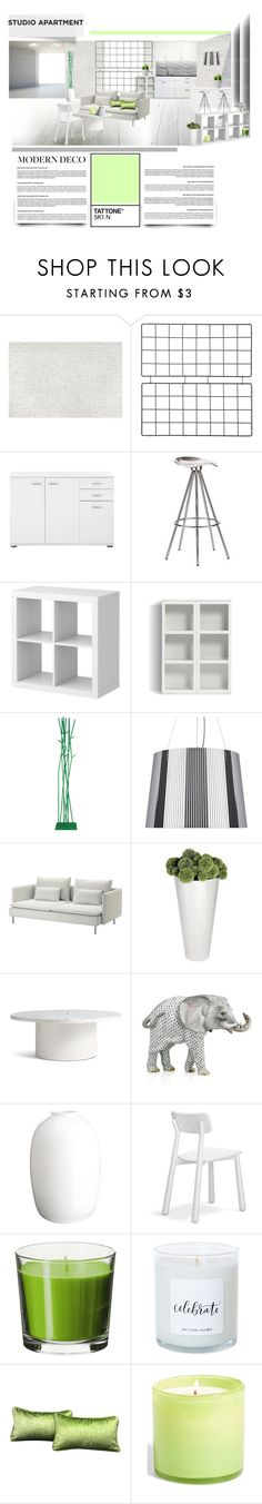 """Apartment 22 ♥"" by morana-m ❤ liked on Polyvore featuring interior, interiors, interior design, home, home decor, interior decorating, 1Wall, Pepe Cortés, Covo and Blu Dot"